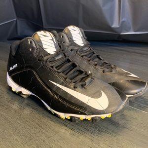 Nike Alpha Fast Flex Boys Cleats SZ 8